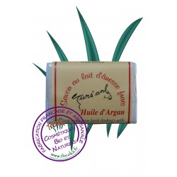 Savons parfumés au lait d'ânesse frais bio - 100g